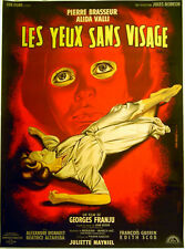 EYES WITHOUT A FACE 1959 Georges Franju Pierre Brasseur MASCII FRENCH POSTER