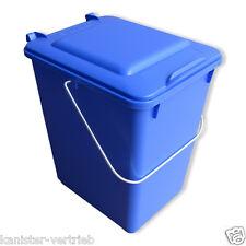 Bioboy Mülltonne Mülleimer Abfall Mülltrennung Biomüll 10 Liter blau NEU