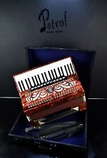 TOP GERMAN ACCORDION WELTMEISTER CAPRICE 120 bass,16sw.+CASE&NEW STRAPS~Musette~