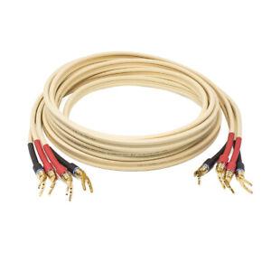 Van den Hul CS-122 Hybrid Pair Of Cables for Loudspeakers Completed Custom
