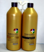Pureology Nano Works Gold Shampoo & Conditioner 33.8 Liter Set Pumps Nanoworks