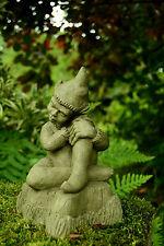 Stone Garden Ornament Elf Pixie (Johnie)
