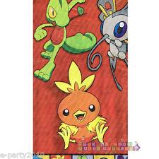 POKEMON Party PLASTIC TABLE COVER ~ Birthday Supplies Pikachu Ash Brock Misty