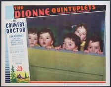COUNTRY DOCTOR DIONNE QUINTUPLETS 1936 LC