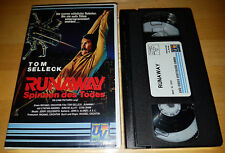 * Runaway - Spinnen des Todes (1984) * Tom Selleck * Gene Simmons * VHS Film *