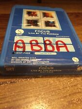 Focus / Live At The Rainbow 1973 Rtm Records 8 Track Tape