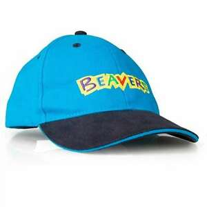 BRAND NEW BEAVER SCOUTS BASEBALL CAP HAT OFFICIAL UNIFORM ONE SIZE - BEAVERS