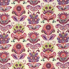 Amy Butler Bright Heart Folk Bloom Fabric in Natural PWAB146 100% Cotton