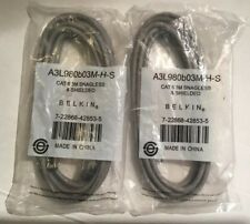 Belkin Cat 6 UTP Patch Cable A3X189-10-YLW-S