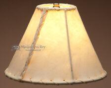Southwestern lamp shades ebay southwestern rawhide lamp shade 10 aloadofball Images