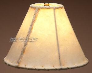 "Southwestern Rawhide Lamp Shade 10"""