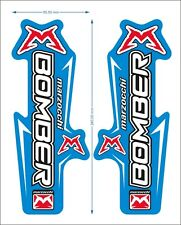 MARZOCCHI BOMBER FORK DECAL SET SELECTABLE COLOR