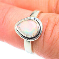 Ethiopian Opal 925 Sterling Silver Ring Size 6.5 Ana Co Jewelry R54380