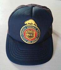 Niagara Regional Police Pipes & Drums Patched Snap Back Trucker Hat Baseball cap