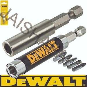"DeWalt Magnetic Bit Holder 80m + 60mm 1/4"" IMPACT DRIVERS, MAKITA, DEWALT BOSCH"