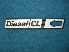 Emblem / Badge Kotflügel links Front Wing left Fiat Ritmo Diesel CL 1. Serie