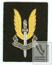 Lancashire Embroidery Special Air Service  Blazer Badge