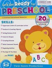 Let's Get Ready for Preschool Christian Bind-Up Workbook (Paperback or Softback)