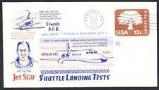 JETSTAR SPACE SHUTTLE MSBLS LANDING SYSTEM TEST FLIGHT 10-1-1976 Space Cover