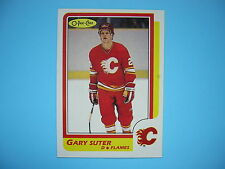 1986/87 O-PEE-CHEE NHL HOCKEY CARD #189 GARY SUTER ROOKIE NM+ SHARP!! 86/87 OPC