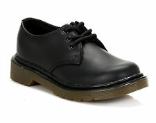 Dr Martens Everley 15378001 Black Softy Leather Kids - Junior Shoes