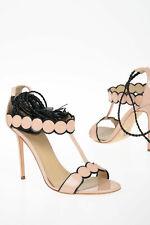 PAULA CADEMARTORI women High Heels Pink Leather Shoes 39 IT Sandals DIANA Pin...