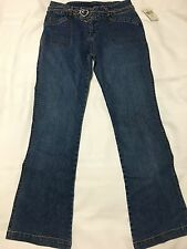 Guess Jeans Girls Size 14 with silver tone belt New NWT