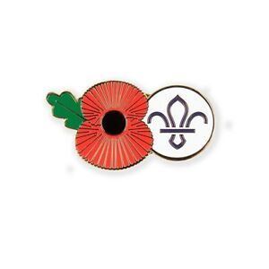 Scout Remembrance Pin Badge