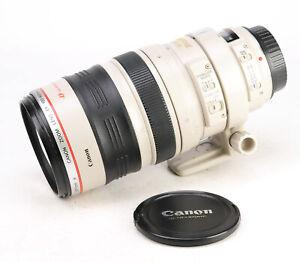 Canon EF 100-400mm Image Stabiliser F4.5-5.6 L IS USM Zoom Lens + F/R Lens Caps