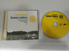 LOVE RULES LOVEPARADE COMPILATION 2003 - CD BLANCO Y NEGRO