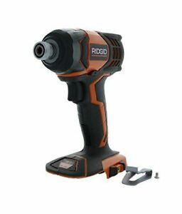 NEW RIDGID 18-Volt 1/4 in. Cordless Impact Driver, Bare Tool, R86034