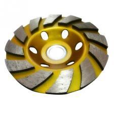 "4"" 100mm Diamond Segment Grinding Wheel Cup Disc Grinder Concrete Granite Stone"