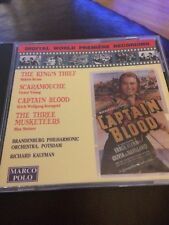 Captain Blood  SOUNDTRACK/Erich Wolfgang Korngold Marco Polo Cd Album MINT