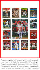 Boston Red Sox Sports Illustrated Cover Collection Poster