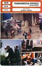 Movie Card. Fiche Cinéma. Transamerica Express/Silver Streak (USA) 1976 A Hiller