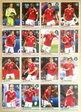 ROAD TO RUSSIA 2018 - Figurine stickers GALLES WALES squadra completa