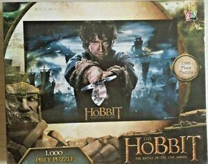 Go Games The Hobbit Bilbo and Sword 1000 Piece Puzzle NEW