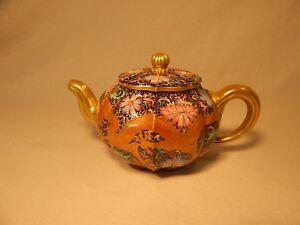 Qing YiXing Zisha Clay Teapot QianLong (Chien-lung) Imperial Falangcai 乾隆珐琅彩龙凤壶