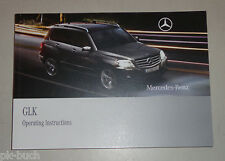 Owner's Manual Mercedes Benz GLK X204 Issue 02/2008