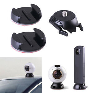 Adhesive Quick Buckle Mount with 3M Tape for Samsung Gear 360 2017 Edition Cam