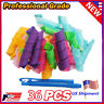 36pack  Magic Silicone Flexi Rods Foam Hair Curlers Styling Twist Curl Tools DIY