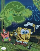 TOM KENNY Spongebob Squarepants 8x10 Photo IN PERSON Autograph JSA COA Cert