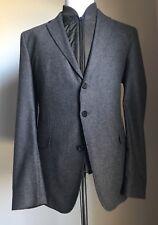 NWT $895 Boss Hugo Boss Nelsen Notched Lapel Jacket Blazer 46R US