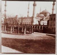 Costantinopoli Turchia Foto C3 Placca Da Lente Stereo Vintage 1926