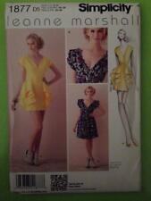 Simplicity Sewing Pattern 1877 Misses Dress Two Lengths Size 12-20 Uncut