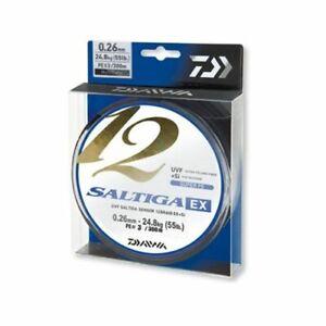 Daiwa Saltiga 12 Braid EX+SI Multi Color 300m / 330yds