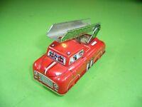 701KB1 Feuerwehrauto Feuerwehr, HS 510, Hans Schuhmann, Made in Western Germany