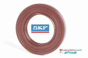 SKF Oil Seal 30x47x7mm Viton Rubber Double Lip R23 TC Stainless Steel Spring FKM