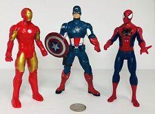 Marvel Legends Titan Heroes Captain America, Spider-Man, Iron man Action Figures