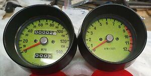 Kawasaki Triples H1 KH500 H2 H2B Tacho, Drehzahlmesser, Speedo